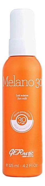 Фото - Солнцезащитное молочко для лица и тела Melano SPF30 125мл солнцезащитное тонизирующее молочко для тела sunissime lait reparateur energisant anti age global spf30 150мл