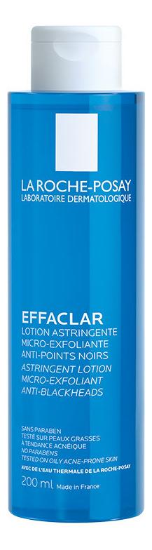 Лосьон для лица сужающий поры с микро-отшелушивающим эффектом Effaclar Astringent Lotion 200мл: Лосьон 200мл