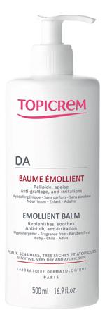 Купить Липидо-восстанавливающий бальзам для лица и тела Peaux Atopiques Da Baume Emollient: Бальзам 500мл, TOPICREM