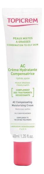 Крем для лица Peaux Mixtes A Grasses Ac Creme Hydratante 40мл успокаивающий крем для лица calm ultra hydratante creme apaisante 40мл