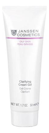 Себорегулирующий крем-гель для лица Oily Skin Peau Grasse Clearifing Cream Gel 50мл