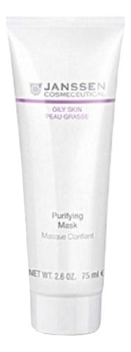 Себорегулирующая очищающая маска для лица Oily Skin Peau Grasse Purifying Mask Masque Clarifiant 75мл недорого