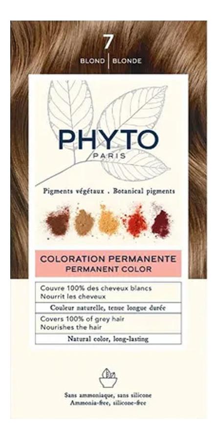 Краска для волос Phyto Color: 7 Блонд phytosolba phyto color краска для волос фитоколор фитосольба палитра 16 цветов фитоколор краска для волос