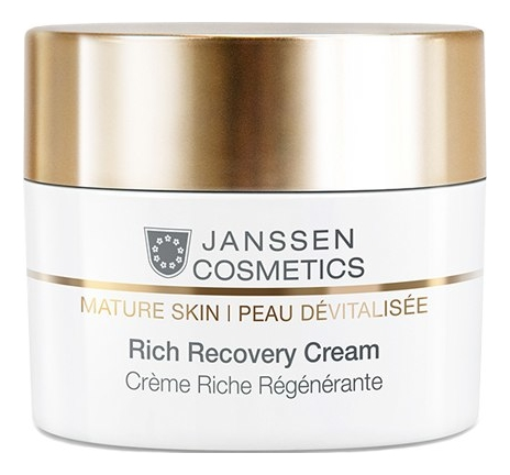Регенерирующий крем для лица Mature Skin Rich Recovery Cream 50мл: Крем 50мл гель крем для лица alpha homme genwood hydro 50мл