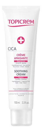 Успокаивающий крем для лица и тела Cica Creme Apaisante: Крем 100мл успокаивающий крем для лица calm ultra hydratante creme apaisante 40мл