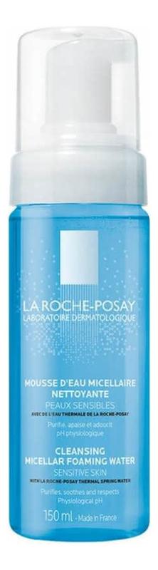 Купить Мицеллярная очищающая пенка для умывания Cleansing Micellar Foaming Water 150мл, LA ROCHE-POSAY