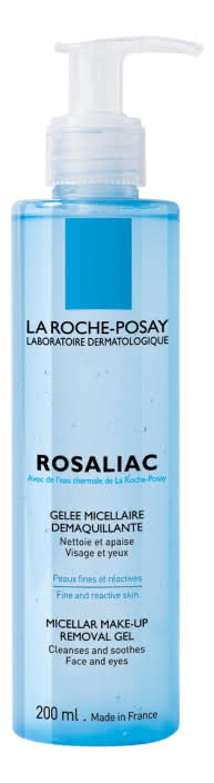Очищающий мицеллярный гель для снятия макияжа Rosaliac 195мл