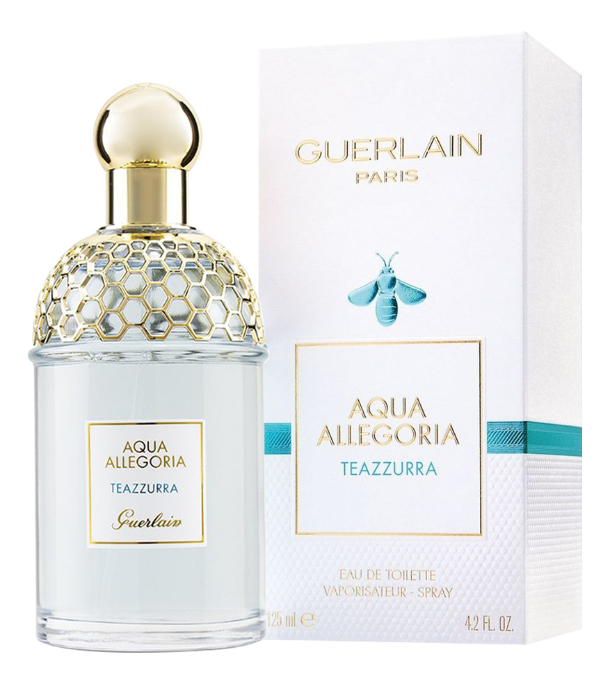 Guerlain Aqua Allegoria Teazzurra: туалетная вода 125мл guerlain super aqua light сыворотка