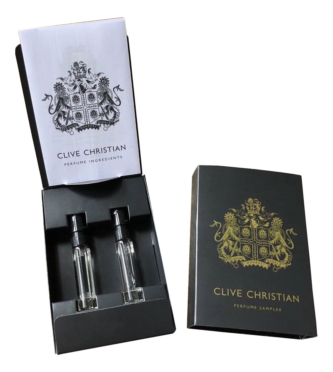 Clive Christian Original Collection Sample Set: духи 2*1,5мл (1872 Feminine + 1872 Masculine)