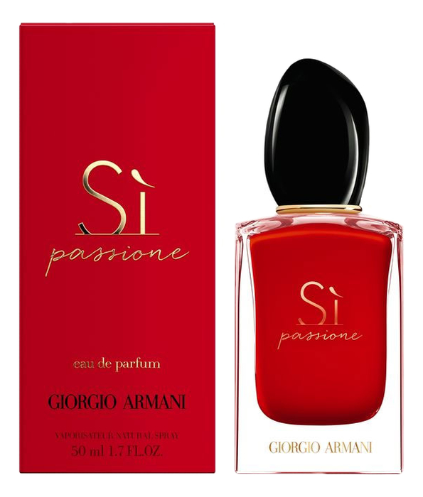 Armani Si Passione: парфюмерная вода 50мл armani si passione limited edition 2019 парфюмерная вода 100мл тестер