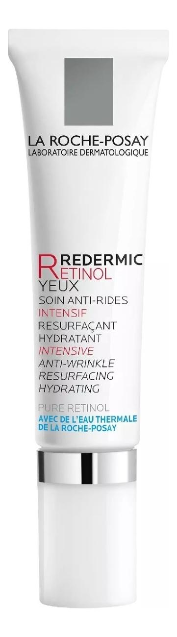 Антивозрастной концентрат для области вокруг глаз Redermic R Eyes Anti-Aging 15мл la roche redermic r купить