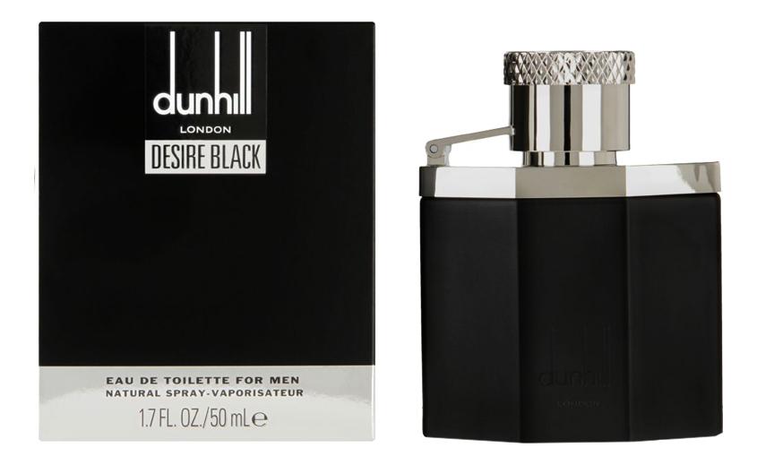 Desire Black: туалетная вода 50мл alfred dunhill men туалетная вода 50мл тестер