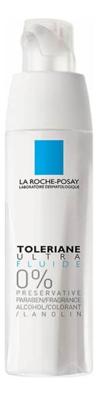 Интенсивный успокаивающий флюид для сверхчувствительной и аллергичной кожи Toleriane Ultra Fluide 40мл la roche posay флюид