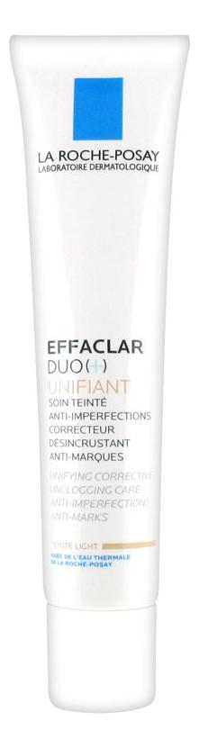 Корректирующий крем-гель для проблемной кожи с тонирующим эффектом Effaclar Duo (+) Unifiant 40мл крем с тонирующим эффектом эйвон