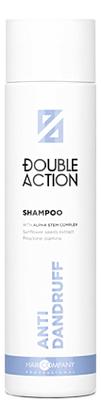 Шампунь для волос против перхоти Double Action Anti-Dandruff Shampoo 250мл шампунь против перхоти с кератином anti dandruff shampoo 250мл