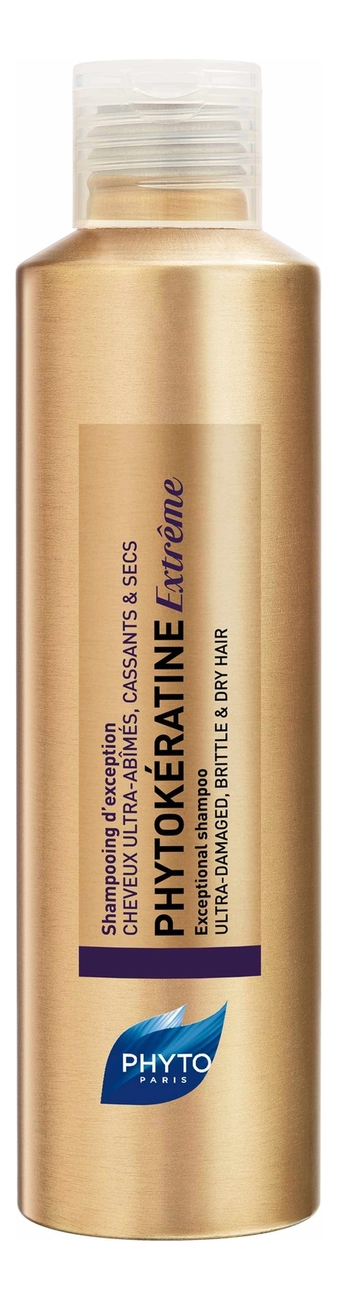 Шампунь восстанавливающий для волос Phytokeratine Extreme Shampooing d' Exception 200мл