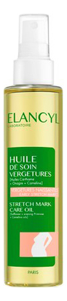 Масло для профилактики растяжек Huile De Soin Vergetures 150мл масло weleda для профилактики растяжек юлмарт