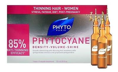 Средство против выпадения волос Phytocyane Density-Volume-Shine 12*7,5мл phyto phytocyane