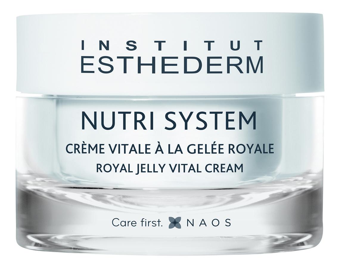 Купить Питательный биокрем для лица с маточным молочком Nutri System Royal Jelly Cream 50мл, Institut Esthederm