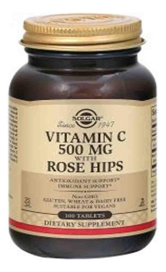 цена на Биодобавка Витамин С и шиповник Vitamin C With Rose Hips 100 таблеток