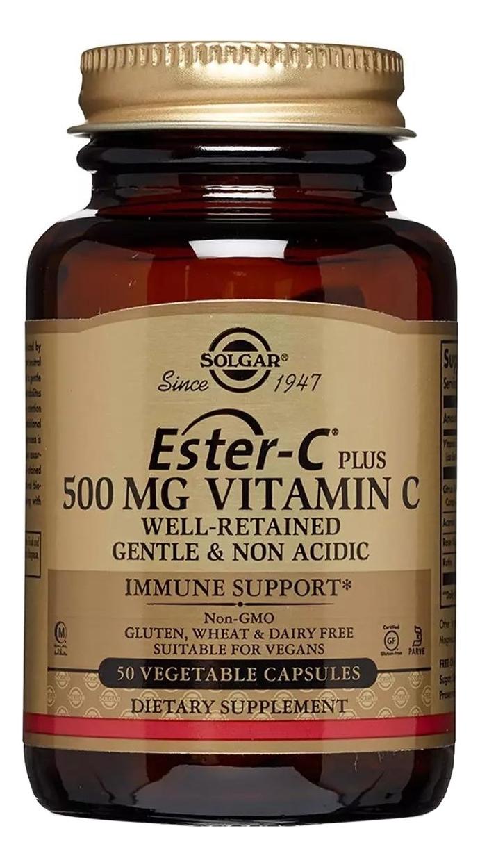 Биодобавка Эстер-С плюс Витамин С Ester-C Plus Vitamin C 50 капсул