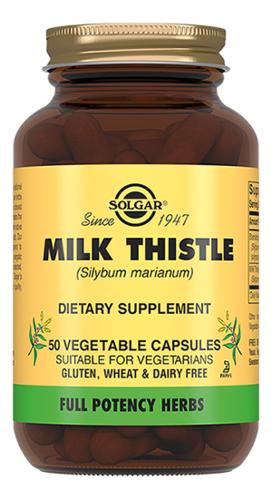 Биодобавка Молочный чертополох Milk Thistle 50 капсул