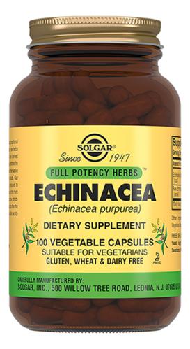 Биодобавка Экстракт Эхинацеи пурпурной Echinacea 100 капсул