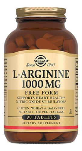 Биодобавка L-Аргинин L-Arginine 1000 Mg 90 таблеток