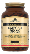 SOLGAR Биодобавка Двойная Омега-3 Double Strength Omega 3