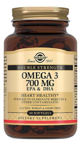 Купить Биодобавка Двойная Омега-3 Double Strength Omega 3: 30 капсул, SOLGAR