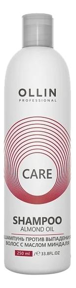 Купить Шампунь против выпадения волос с маслом миндаля Care Shampoo Almond Oil: Шампунь 250мл, OLLIN Professional