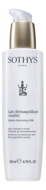 Купить Очищающее молочко для лица Lait Demaquillant vitalite: Молочко 200мл, Sothys