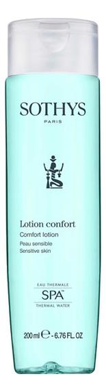 Купить Тоник для лица с экстрактом хлопка и термальной водой Lotion Confort: Тоник 200мл, Sothys