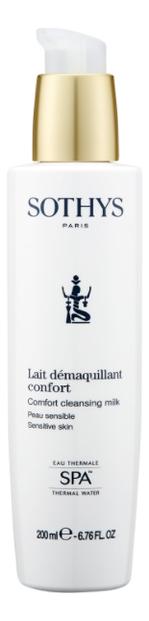 Купить Очищающее молочко для лица Lait Demaquillant Confort: Молочко 200мл, Sothys