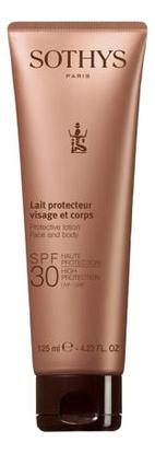 Купить Эмульсия для лица и тела Lait Protecteur Visage Et Corps SPF30: Эмульсия 125мл, Sothys