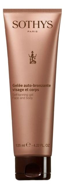Гель для тела Gelee Auto-Bronzante Visage Et Corps 125мл гель для тела elixir gelifie nourrissant corps крем гель 30мл