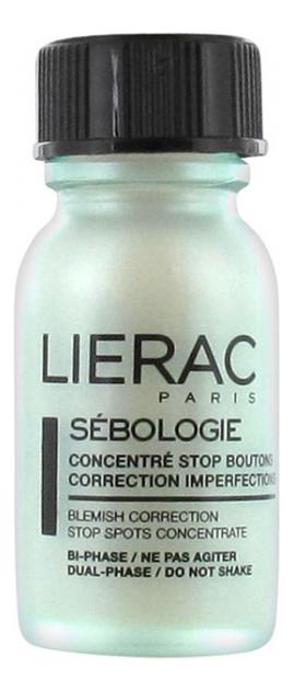 Концентрат для лица Sebologie Concentre Stop Boutons Correction Imperfections 15мл концентрат для похудения concentre minceur 75мл