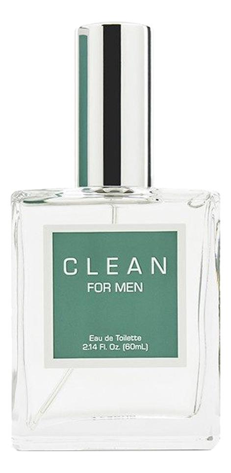 Clean Men: туалетная вода 60мл тестер clean rain парфюмерная вода 60мл тестер