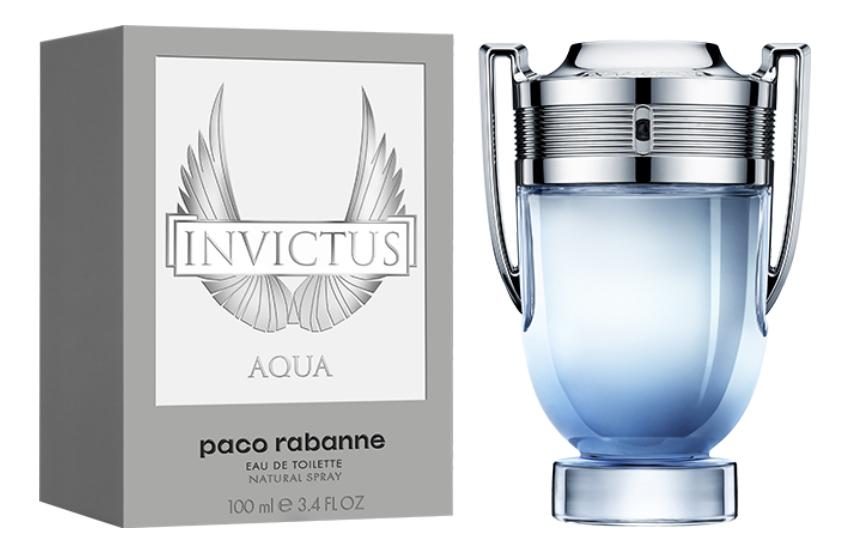 Paco Rabanne Invictus Aqua 2018: туалетная вода 100мл paco rabanne invictus туалетная вода 50мл