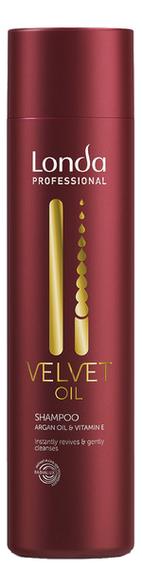 Купить Шампунь для волос с аргановым маслом Velvet Oil Shampoo: Шампунь 250мл, Londa Professional