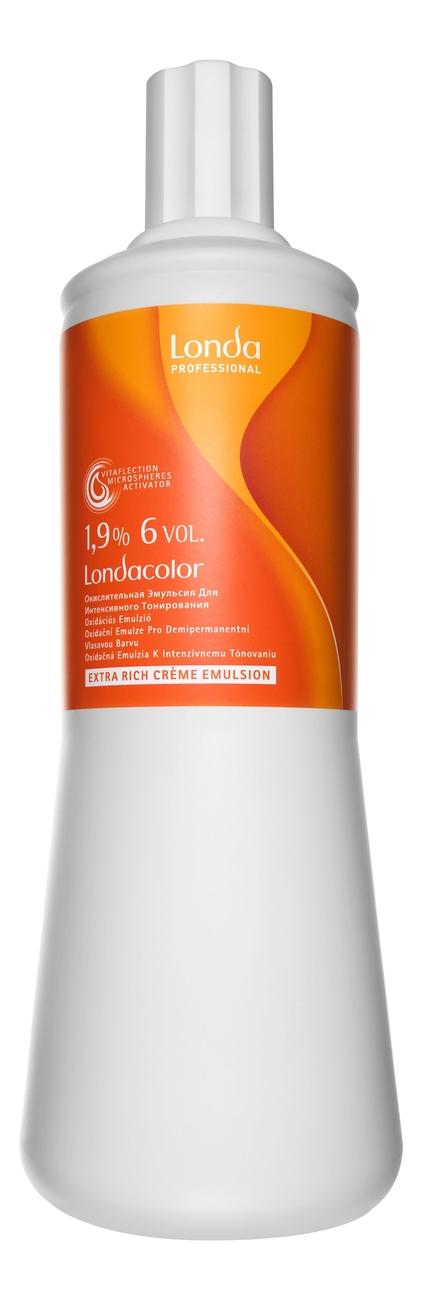 Купить Окислительная эмульсия для волос Londacolor Extra Rich Creme Emulsion 1.9% 6Vol 1000мл, Londa Professional