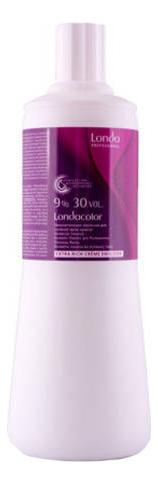 Окислительная эмульсия для волос Londacolor Extra Rich Creme Emulsion 9% 30Vol 1000мл недорого