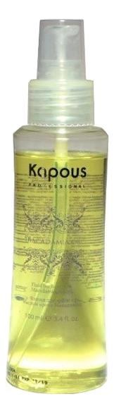 Флюид для волос с маслом ореха макадамии Macadamia Oil Fluid 100мл kapous professional macadamia oil бальзам с маслом макадамии 200 мл
