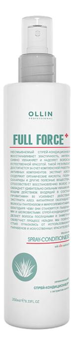 Увлажняющий спрей-кондиционер для волос с экстрактом алоэ Full Force Moisturizing Spray-Conditioner With Aloe Extract 250мл недорого