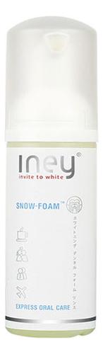 Отбеливающий пенный ополаскиватель Iney Snow-Foam Express Oral Care 50мл