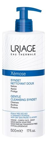 Мягкий очищающий гель для сухой кожи лица Xemose Syndet Nettoyant Doux: Гель 500мл uriage мягкий очищающий пенящийся гель синдет xemose 500 мл