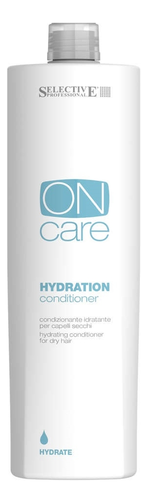 Увлажняющий кондиционер для сухих волос On Care Hydration Conditioner: Кондиционер 1000мл увлажняющий кондиционер для волос sp hydrate conditioner кондиционер 1000мл