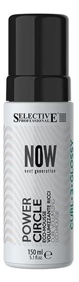 Мусс для придания энергии локонам волос Now Next Generation Power Circle 150мл