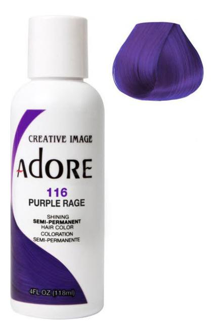 Краска для волос Adore Hair Color 118мл: 116 Purple Rage
