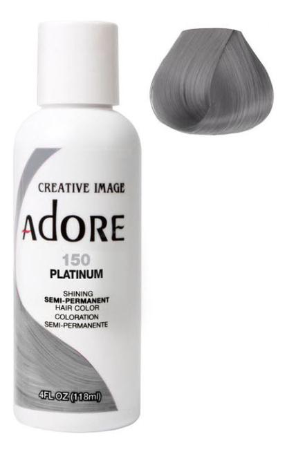 Купить Краска для волос Adore Hair Color 118мл: 150 Platinum, Creative Image Systems